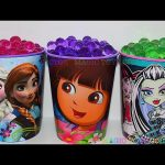 Orbeez Surprises Cups Dora the Explorer Frozen Elsa and Anna Monster High Eggs Surprises Toys Kids