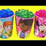 Surprises cups FROZEN MINNIE MOUSE Frozen  Orbeeez bling bags eggs surprises Toys