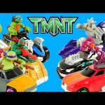 7 TMNT T-Machine Hot Rod Teenage Mutant Ninja Turtles Nickelodeon Superhero Cars Comparison