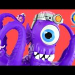 Imaginext Tentaclor Ultimate Alien Enemy Hello Kitty Must Be Saved From The Giant Light Up Monster