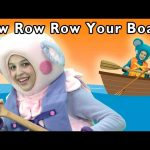 Rowing in Boats | Row Row Row Your Boat and More | Baby Songs from Mother Goose Club!