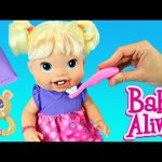 BABY ALIVE Doll Baby's New Teeth with Brushy Brushy Baby Eating & Teething Toddler DisneyCarToys