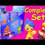 INSIDE OUT Complete Set of Mystery Minis Blind Bags Boxes with Joy, Anger, Sadness, Bing Bong Toys