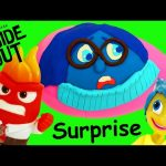 INSIDE OUT TOYS From The Disney Pixar Summer Movie + GIANT Play Doh Surprise Egg DisneyCarToys