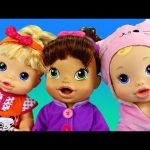 BABY ALIVE Doll Dress Up Party With New Clothes for Baby All Gone Doll & Bipsy Burpy DisneyCarToys
