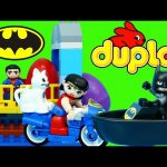 NEW Duplo Lego Batman Adventure Set + Superman With Surprise Eggs Guessing Game by DisneyCarToys