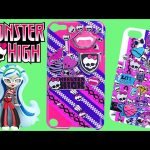 Monster High Tapeffiti iPhone iPad Touch Case Design Kit MonsterHigh Tape Crafting + Decorating DCTC