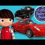 Driving In My Car   Part 3   Nursery Rhymes   By LittleBabyBum!