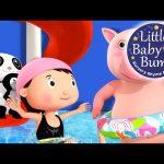 Swimming Song | Part 2 | Nursery Rhymes | Original Song By LittleBabyBum!