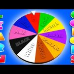 3D Color Wheel Of Fortune! Learn Colors with Color Chart, Teach Colours, Baby Children Kids Learning