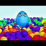 Ball Pit Show 3D Learn Colors Compilation – Color Balls Nursery Collection by Animated Surprise Eggs