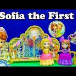 SOFIA THE FIRST Disney Sofia the First Masquerade Set Disney Princess Sofia Video Toy Review