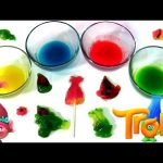 Trolls Sweet 'n Sour Gummy Maker | Make Trolls Candy Lollipops & Cotton Candy by Funtoyscollector