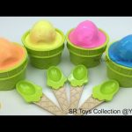 Clay Slime Ice Cream Surprise Eggs Little Mermaid Sofia the First The Secret Life of Pets Toys