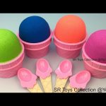 Kinetic Sand Ice Cream Surprise Toys in Cups Star Wars Monster High Disney Pixar Cars Finding Dory