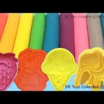 Learn Colors with Play Doh Ice Cream Peppa Pig Elephant Molds Fun & Creative for Kids SR Toys Collec