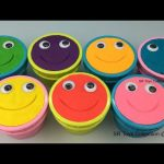 Play Doh Smiley Face Ice Cream Cups Surprise Toys Little Mermaids Fun Video for Children & Toddlers