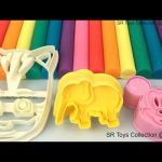 Learn Colors with Play Doh Ice Cream Peppa Pig Elephant PJ Masks Molds Fun & Creative for Kids Video