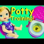 BABY ALIVE POTTY TRAINING Doll Poops & Pees on Toilet with Brushy Brushy Baby Doll