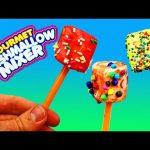 Marshmallow Mixer Maker Desserts & Sweet Treats Candy Toy DIY Frost & Sprinkle DisneyCarToys