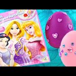 DISNEY PRINCESS New Giant Blind Bag + Play Doh Sparkle Surprise Eggs Huevos Juguete Princesa