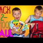WHAT'S IN MY BACKPACK?? SCHOOL SUPPLIES HAUL