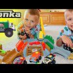 Tonka Climb-Overs Truck Toys
