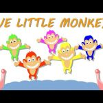 Five Little Monkeys | Rhymes | Videos From Kids TV