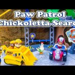 PAW PATROL Nickelodeon Paw Patrol Hiding in the Snow Chickoletta a Paw Patrol Video Parody