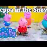 PEPPA PIG Nickelodeon Peppa Pig Snowy Day a Peppa Pig Video Parody 2