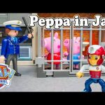 PAW PATROL Nickelodeon Peppa Pig Goes to Jail a Peppa & Paw Patrol Video Parody