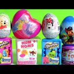 SURPRISE Disney Toys Princess Sofia Pooh Minnie PJ MASKS Peppa Pig Paw Patrol NUM NOMS Princesses