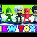 PJ MASKS TOYS Héroes en Pijamas Juegos Catboy Gekko Owlette Romeo Luna Girl & Night Ninja