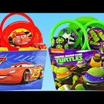 Surprise Toy Baskets Teenage Mutant Ninja Turtles Disney Pixar Cars 2 ToysRus Easter 2015 DCTC