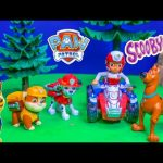 PAW PATROL Nickelodeon Helps Scooby Doo Solve a Spooky Mystery Toys Video Parody