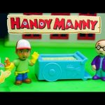 HANDY Manny Disney Handy Manny Ice cream Cart a Handy Manny Video Toy Review