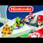 MARIO KART Nintendo Super Mario Brothers Infinity Loop a Mario Kart Video Toy Review