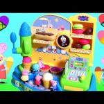 Peppa Pig Ice Cream Machine with Cash Register | Fábrica De Helados Juguetes Peppa Pig Heladería