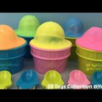 Clay Slime Ice Cream Surprise Toys Sofia the First Disney Frozen Minions Finding Dory My Little Pony