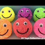 Play Foam Smiley Face Surprise Toys Kitty in My Pocket Doc McStuffins The Good Dinosaur Transformers