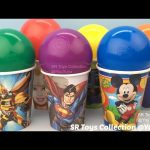 Balls Surprise Cups The Secret Life of Pets Grossery Gang Crusty Chocolate Bar TMNT Justice League