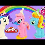 NEW PLAY DOH Make N' Style My Little Pony Playdough Pinkie Pie Rainbow Dash Rarity Ponies