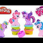 NEW 2015 Play Doh Cutie Mark Creators My Little Pony Toys Pinkie Pie Princess Twilight Sparkles