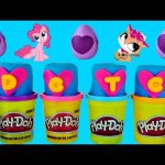Surprise Fashems DCTC Play Doh Eggs My Little Pony | Littlest Pet Shop Plastilina Huevos Sorpresa