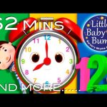 Telling Time Song   Plus Lots More Nursery Rhymes   From LittleBabyBum!