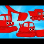 Construction Vehicles Morphle – Excavator, Bulldozer and Dumptruck Videos For Kids