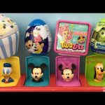 Mickey Mouse Clubhouse Pop Up Pals Surprise Eggs and Toys Cupcake Donald Duck Minnie Mouse Twozies