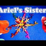 DISNEY PRINCESS Color Changesr Ariel Sisters Princess Airel Color Changer Video