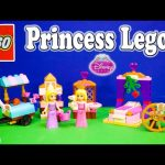 DISNEY PRINCESS Sleeping Beauty & Rapunzel Lego Sets Lego Toys Video Unboxing