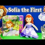 SOFIA THE FIRST Disney Sofia the First Show and tell Book a Disney Sofia the First Video